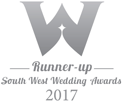 South West Wedding Awards 2017 Runner Up