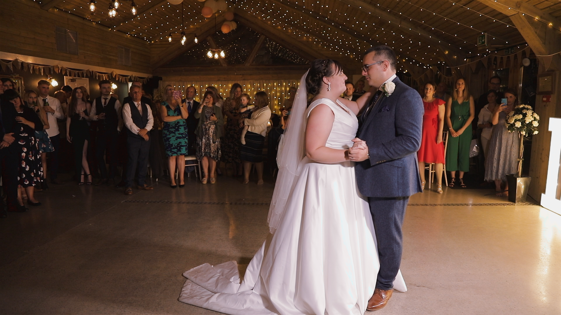 Bride & Groom first Dance, Chycara Barn